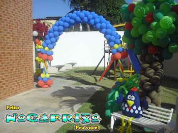 A Galinha Pintadinha - Decoração de Balões