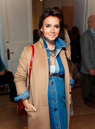 fashionable mom, pregnant, miroslava duma
