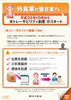 米トレーサビリティ法について