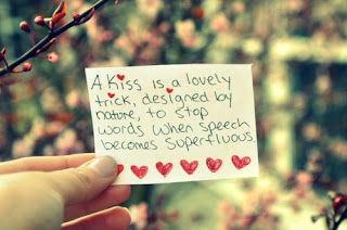 kiss is a lovely trick quote
