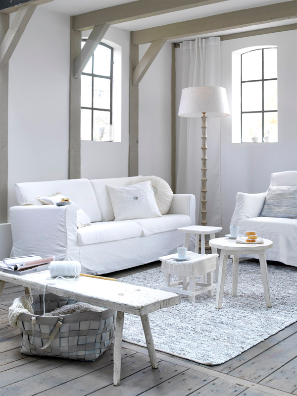 Life as a moodboard white inspiration by kim timmerman for Arredamento nordico on line