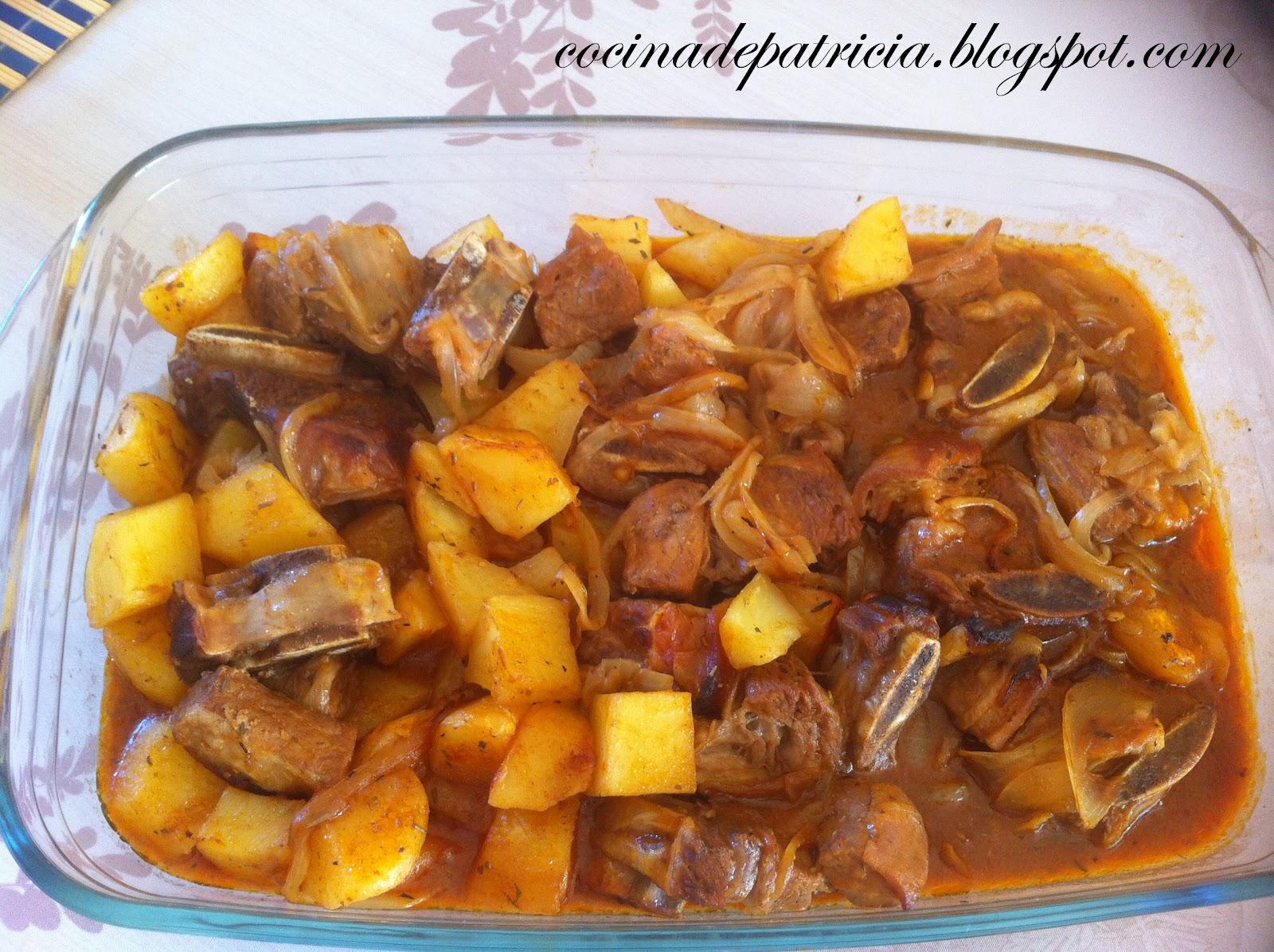 La cocina de patricia estofado de ternera al horno - Cocina al horno ...