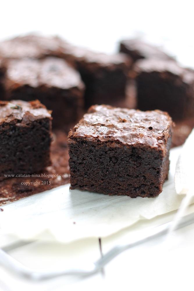 brownies   catatan nina aneka resep masakan rumah