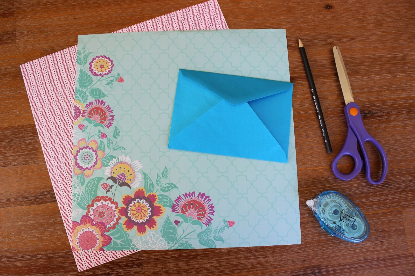 decorative scrapbooking paper - Decorative Envelopes