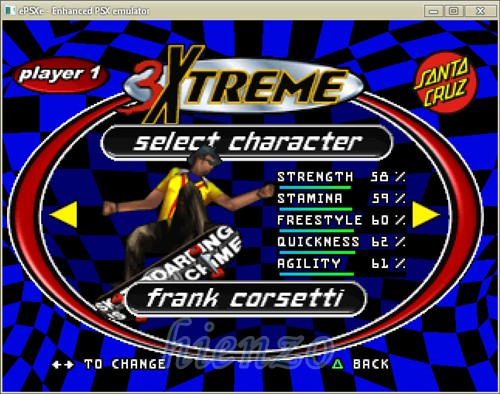 3Xtreme PS1 Gameplay