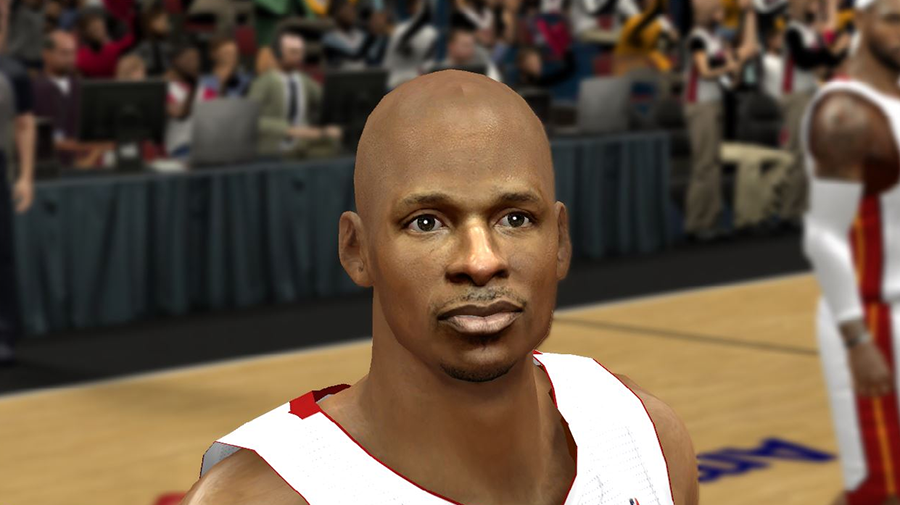 Ray Allen NBA2K Face