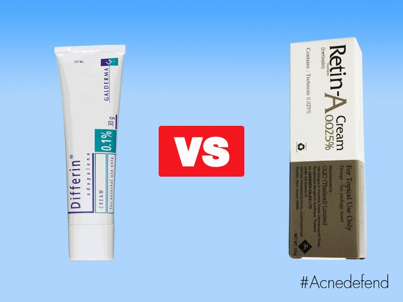 Epiduo gel vs differin
