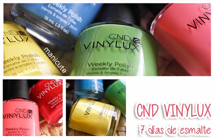 ManiCute | Nail art blog: CND Vinylux | 7 días de esmalte | ¡REVIEW!