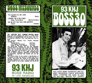 KHJ Boss 30 No. 225 - Scotty Brink and Bill Wade