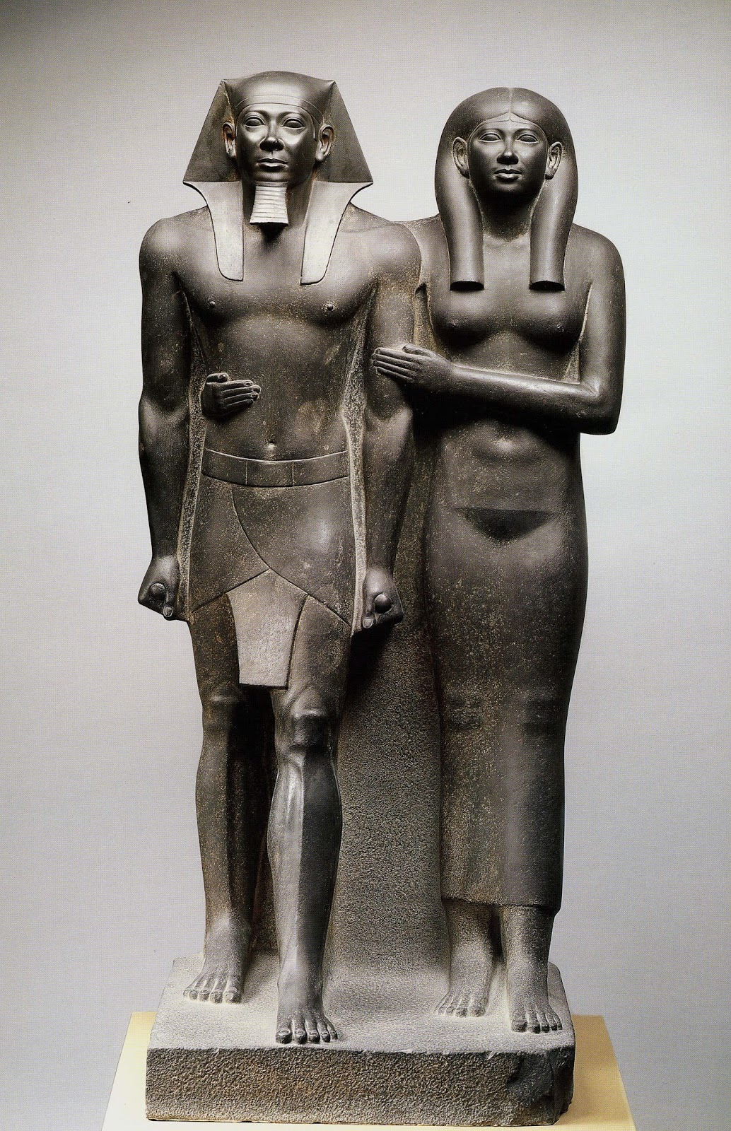 menkaure and queen khameremnebty