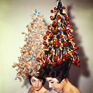 New fashion arrivals cute and crazy christmas hair styles for Salon xmas decorations
