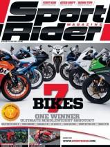 Sport Rider Magazine Cover