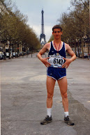THOMAS Q KIMBALL WA8UNS Marathon International De Paris Marathon De Paris Paris Marathon 1986