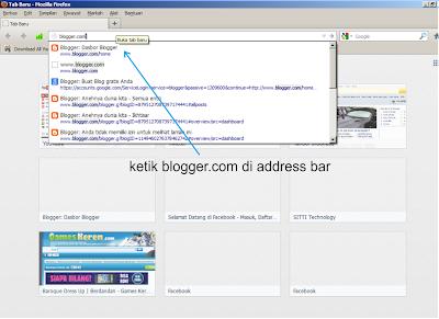 Tutorial membuat postng di blogger