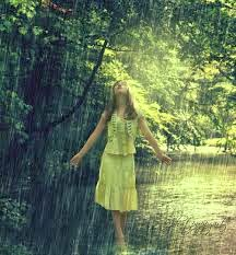 Image result for girl dancing in the rain