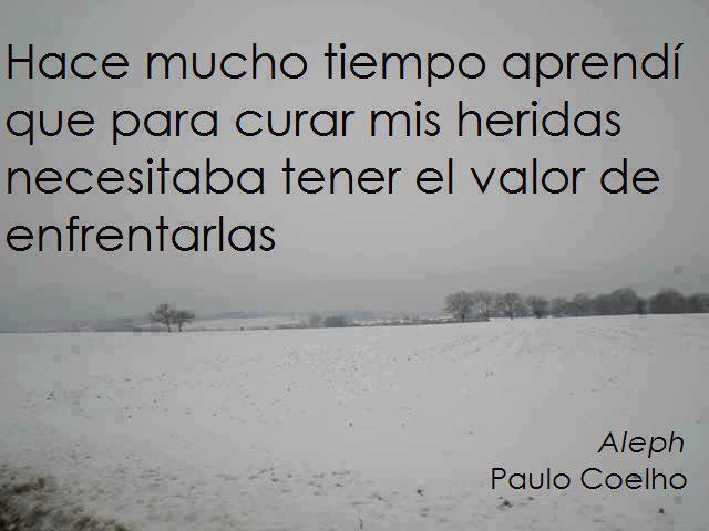 PAULO COELHO: HACE MUCHO TIEMPO APRENDI