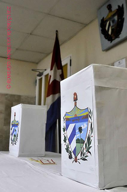 Urnas listas para la realización de los comicios generales que  tendrán lugar en Cuba el  domingo tres de febrero.