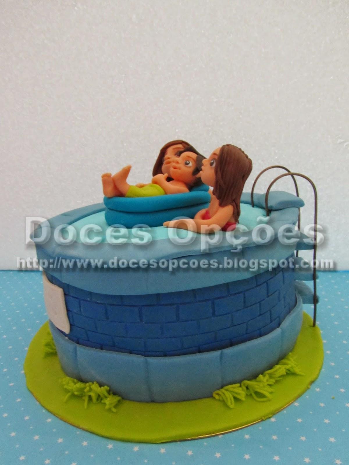bolo piscina bragança