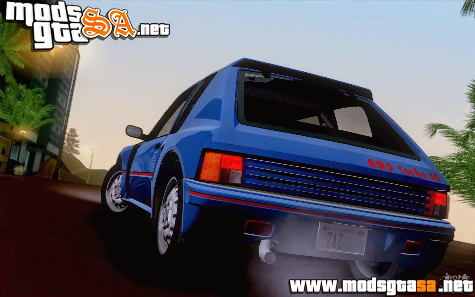 SA - Peugeot 205 Turbo 1984