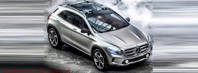 Photo de couverture facebook Mercedes GLA Concept
