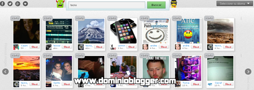 Busca imagenes en Twitter con Search Photo Twitter