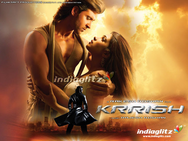 Hrithik Roshan & Priyanka Chopra in 'Krrish' Movie