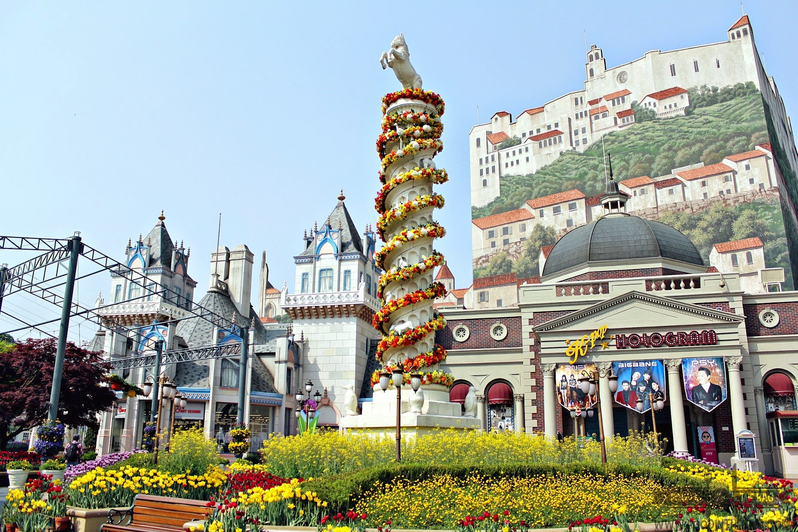 everland theme park in korea photo essay food in the bag