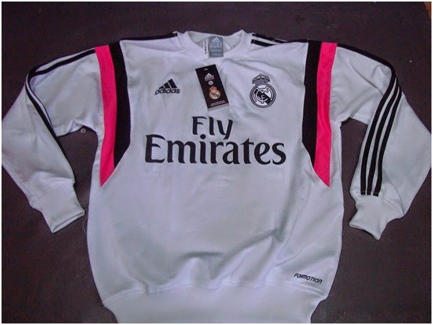 adidas Real Madrid Home Jacket Sweater 2014 - 2015