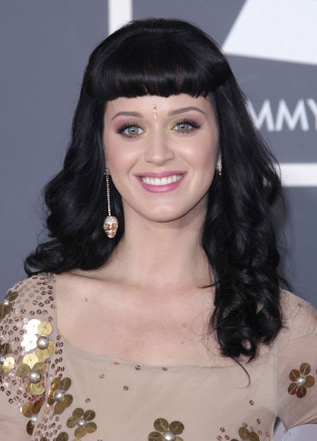 katy perry stunning hair styles