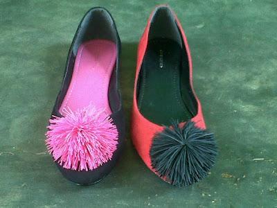 Aneka model sepatu sandal wanita murah,model sepatu wanita  Black_Fanta & Red_Black