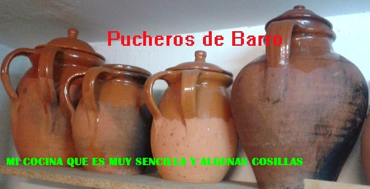 Pucheros de Barro