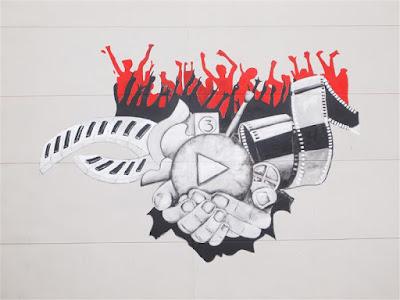Arte callejero en Logroño