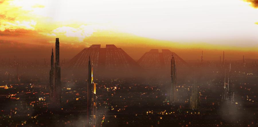 cidade de Blade Runner
