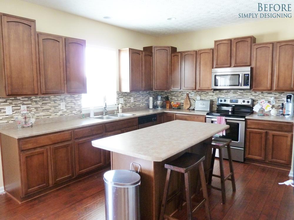 Glitter Kitchen Cabinets Pic