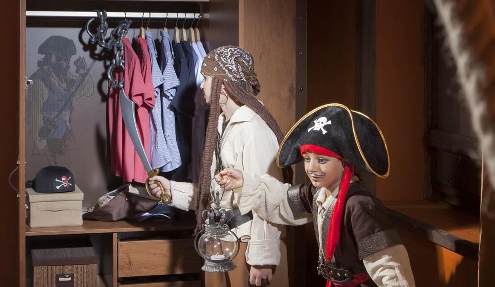 Barco a la vista!! Mobiliario Infantil Pirata