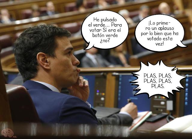 Un aplauso para Pedro