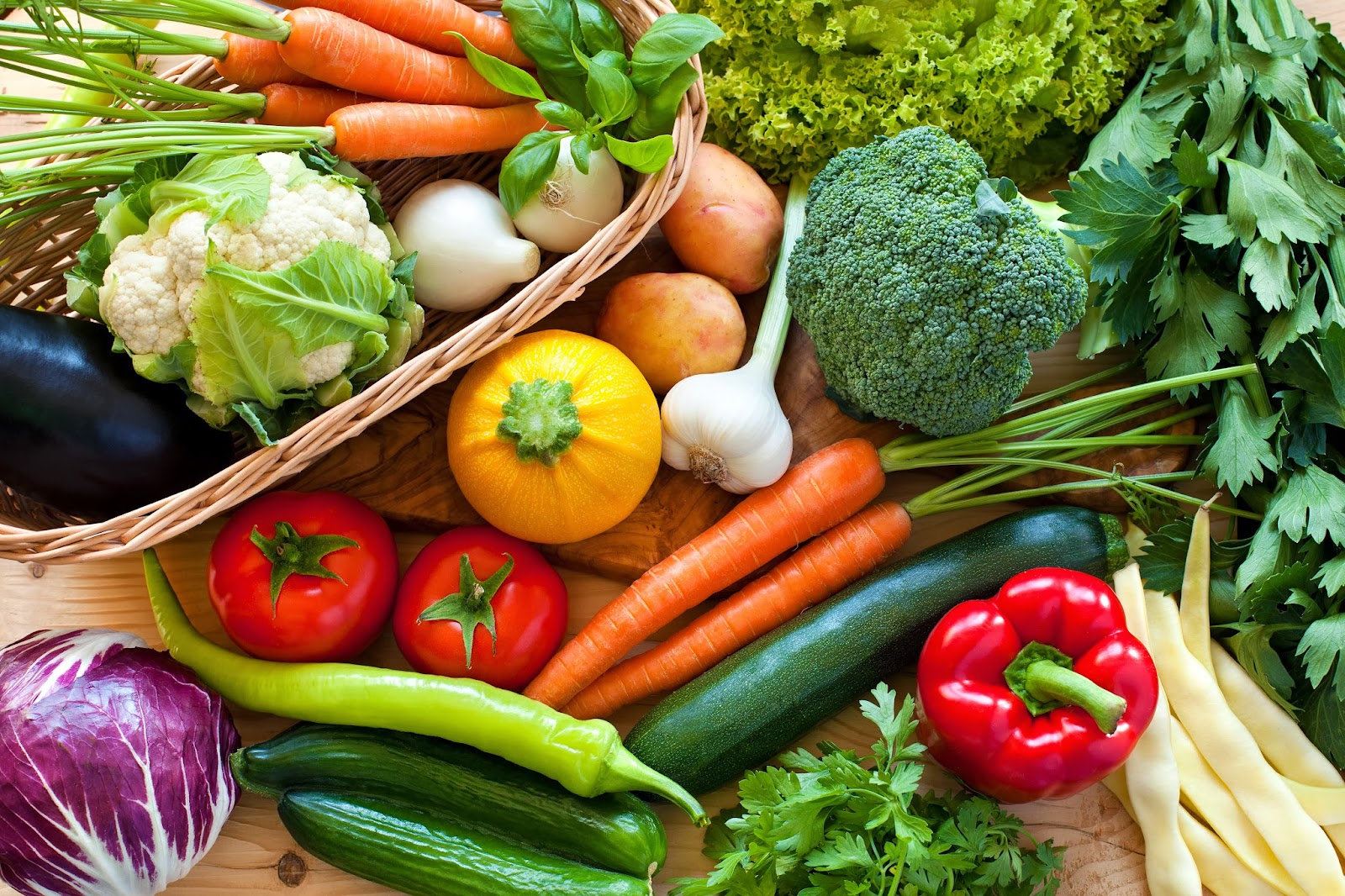 Top 10 vegetables for glowing skin get set blush for Beautiful vegetables