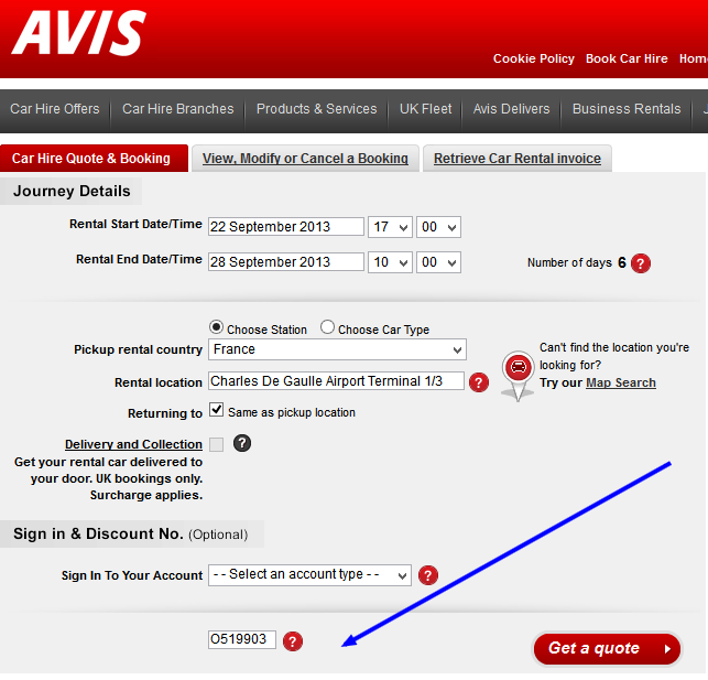 10% Avis discount code - valid throughout 2013 /by/ Vakanz ...