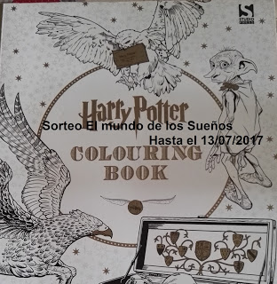 Sorteo Colouring Book Harry Potter
