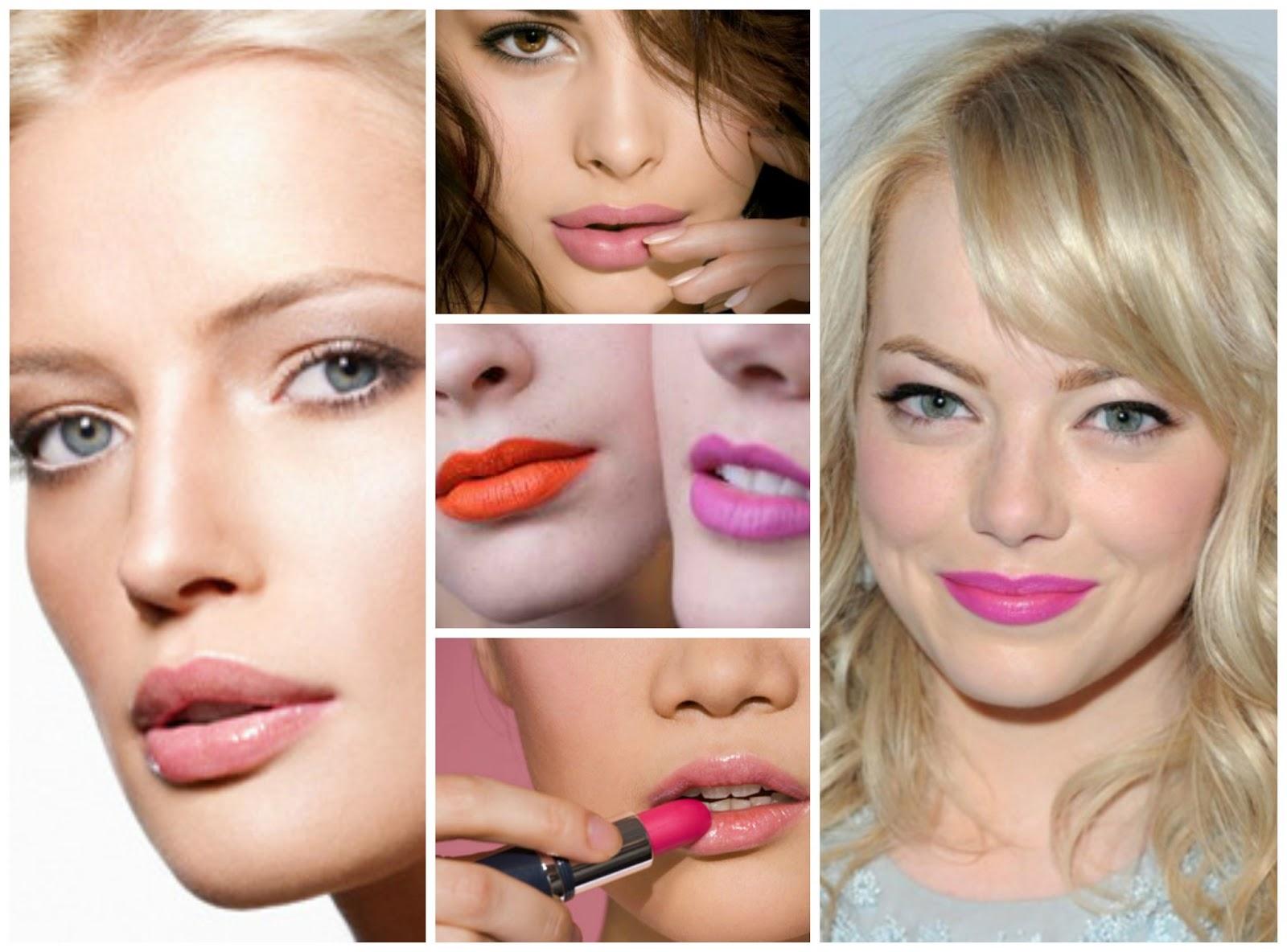 Welke kleur lippenstift test