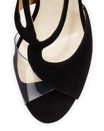 Francesco Russo Wavy high Heeld Sandals