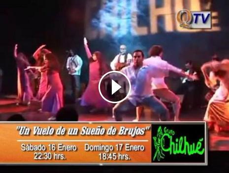 """""""UN VUELO DE UN SUEÑO DE BRUJOS"""" del Grupo Chilhué"""