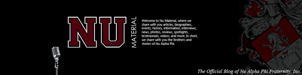 The Official Blog of Nu Alpha Phi Fraternity, Inc.