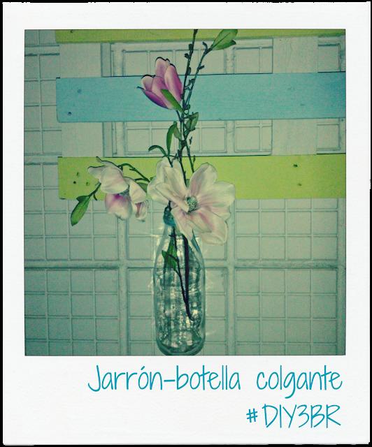 JARR�N DIY CON BOTELLA RECICLADA