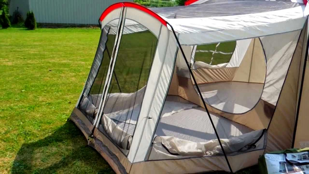 2. Wenzel Klondike Eight-Person Family Cabin Dome Tent & Best Family Tent Guide