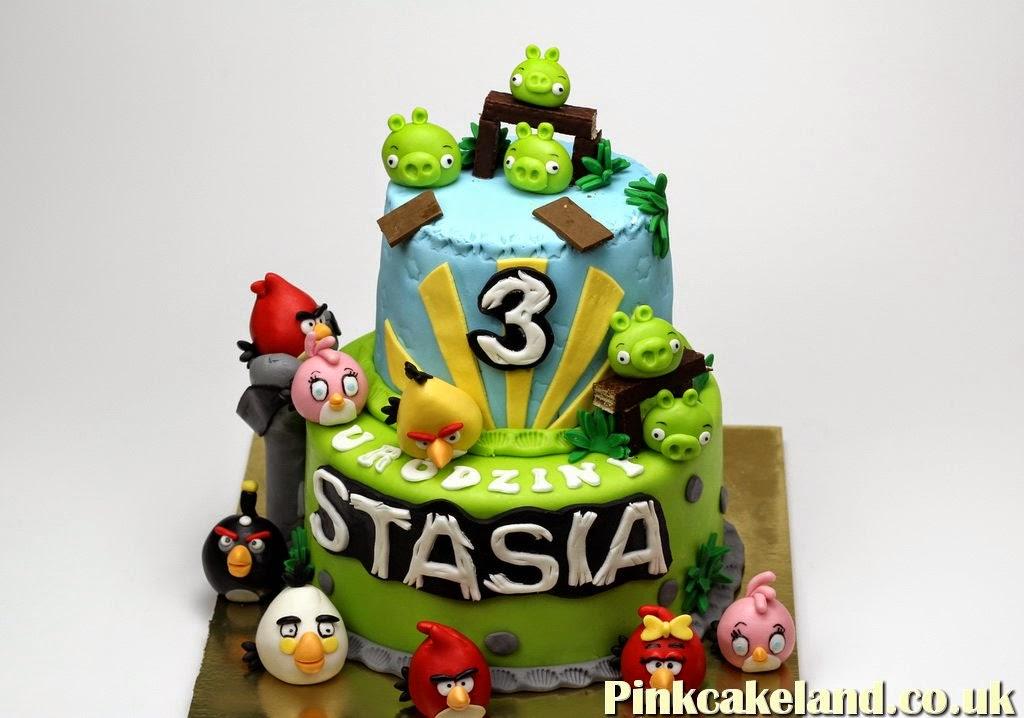 Angry BIrds Cake, Hounslow
