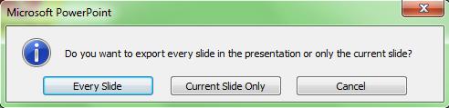 Cara Konversi Slide Power Point Menjadi Format Gambar