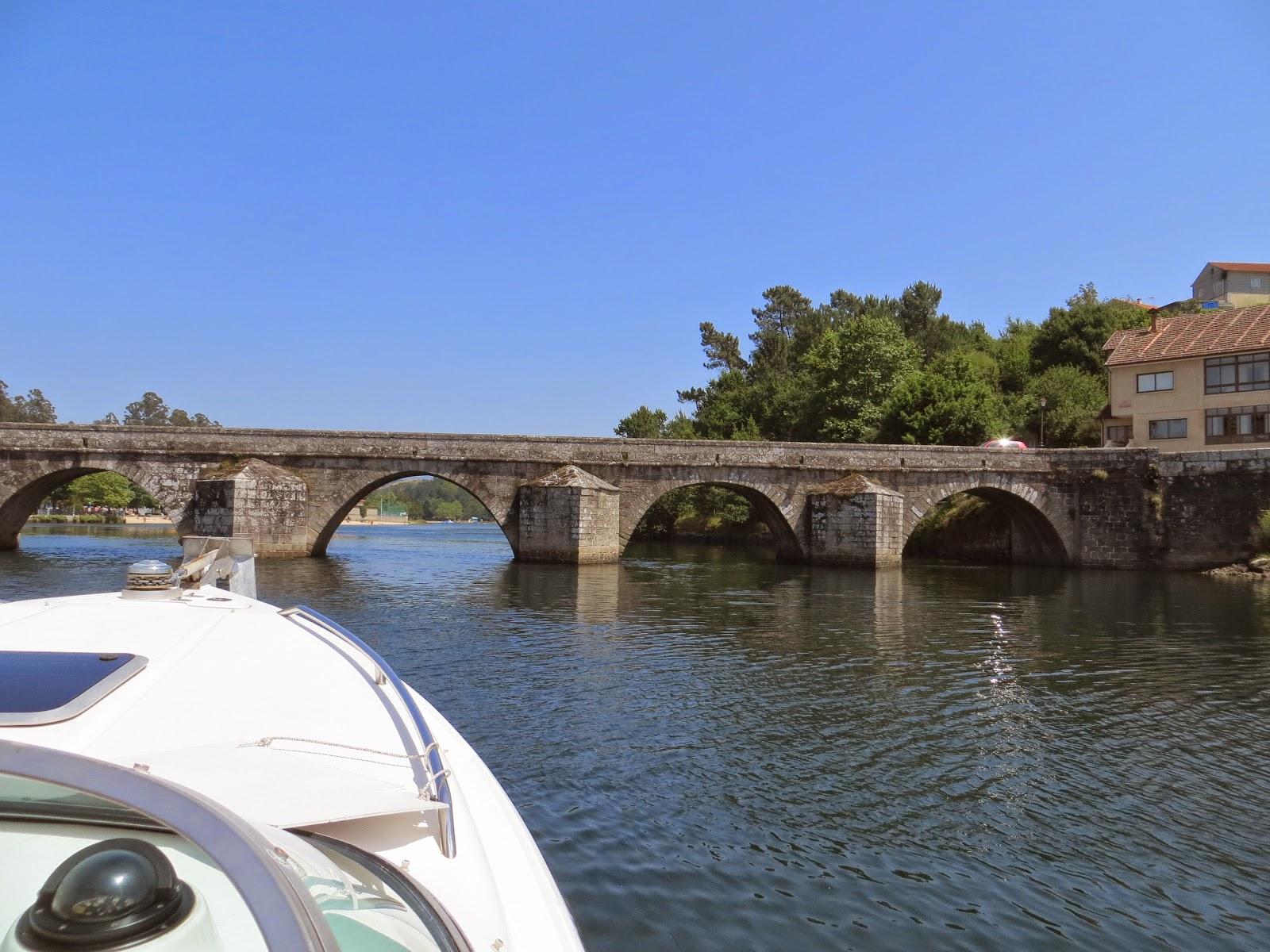 Ponte San Paio, Ensenada de san Simón