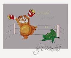 Хомяк vs. Жаба