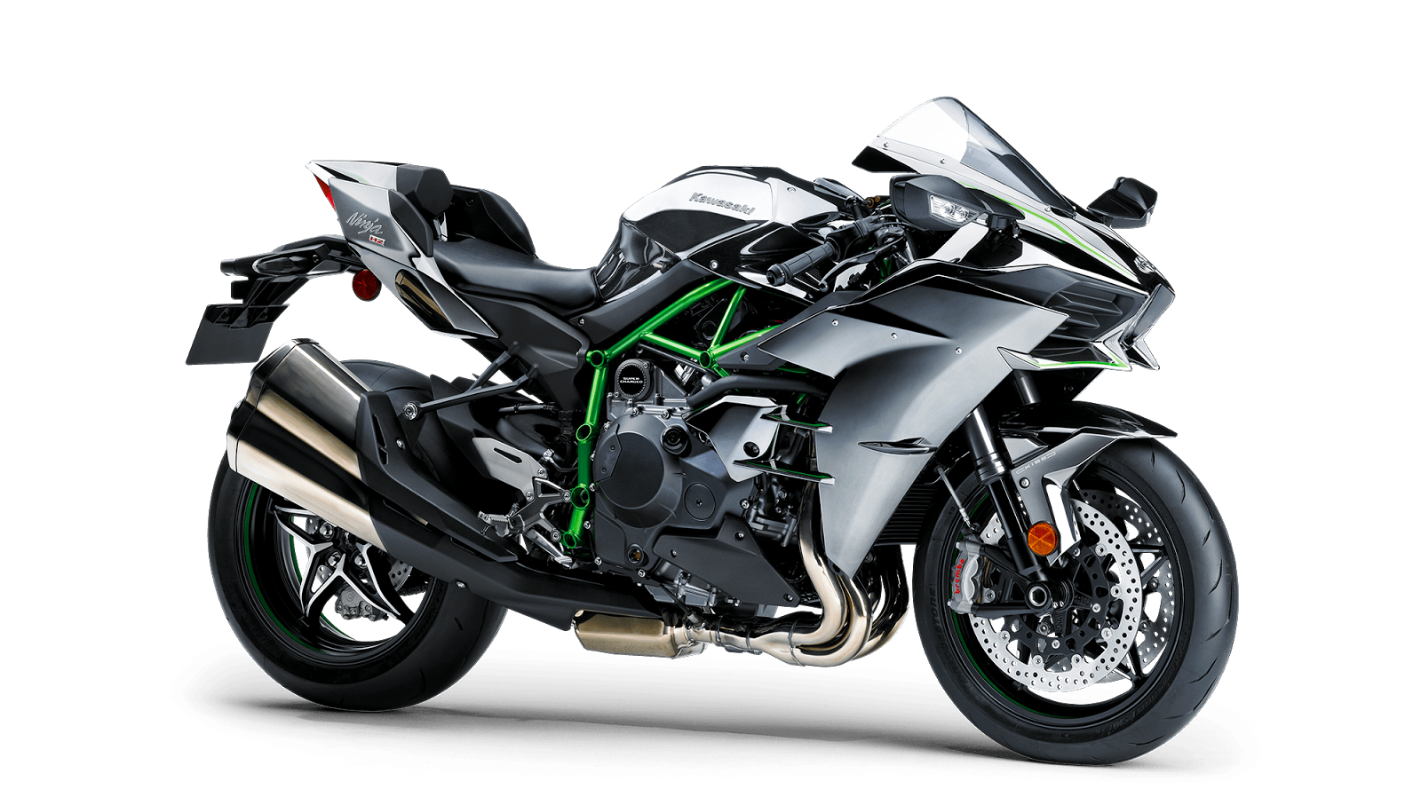 Kawasaki Ninja H2 - Road Legal Supercharged Bike